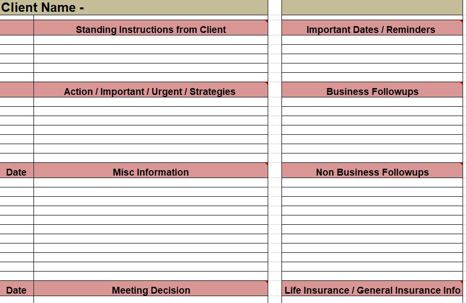 Client Sheet - Taxationwealth