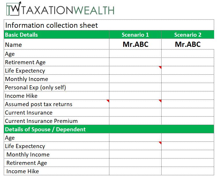 Life Insurance Calculator - Taxationwealth